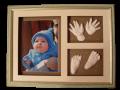 Слепочки ручек и ножек - подарок новорожденным